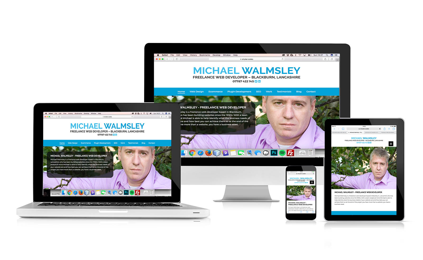 Michael Walmsley, Freelance Web Developer